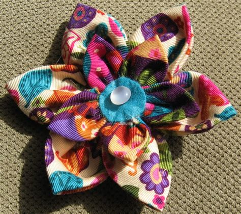 free patterns and instruction on making flower hair clips pattern shmattern flower hair bow tutorial