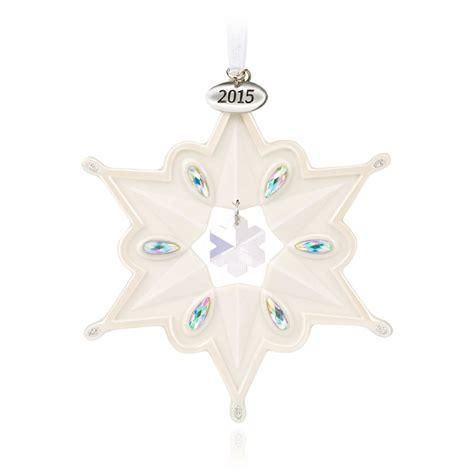 ornament on hallmark 2015 snowflake hallmark keepsake ornament hooked on