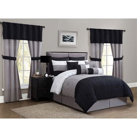 bedroom sets with curtains luxurious 20 piece queen size bed bedroom comforter set