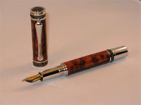 Handmade Wooden Pen - custom snakewood pen handmade wooden pen by