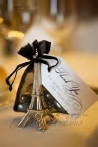 Parisian Wedding Favors by Bridal Shower On Parisian Wedding