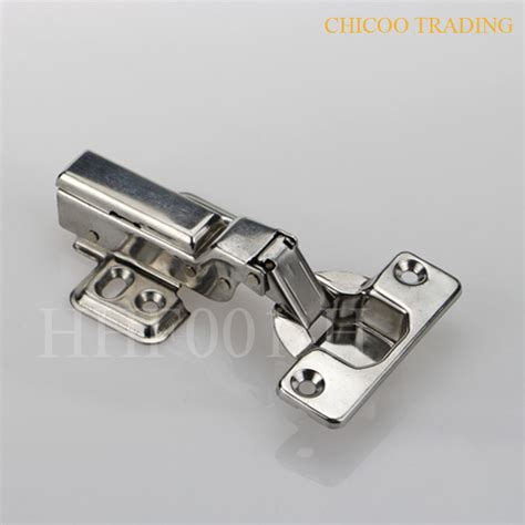 Furniture Hinges by Aliexpress Buy Half Overlay Stainless Steel 304 Furniture Concealed Hydraulic Kitchen