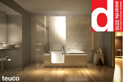 Designer Kitchen And Bathroom Awards Teuco Wins The Designer Kitchen Bathroom Award 2015 Teuco