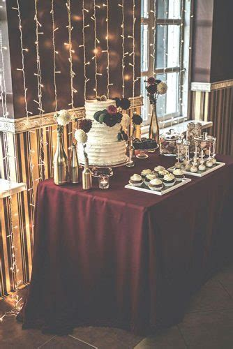 Burgundy Wedding   Best Ideas For Fall Wedding 2018   Page