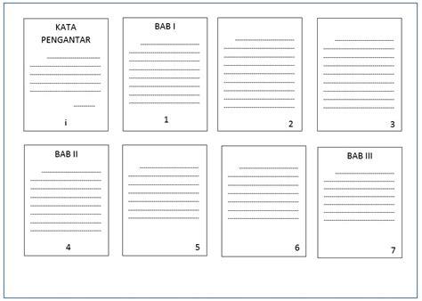 membuat nomor halaman terpisah cara praktis membuat nomor halaman beda format dalam satu file