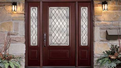 Exterior Fiberglass Doors With Sidelights Exterior Doors With Sidelights Best 6 Inspired Ideas For Craftsman Style Entry Door