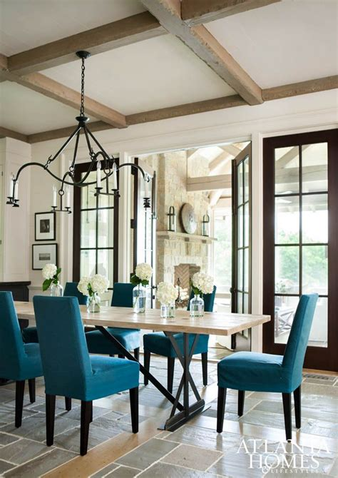Upholstered Chairs Dining Room 516 best design trend rustic modern images on pinterest