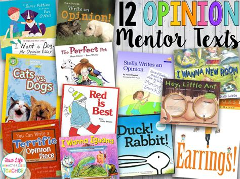 picture books to teach narrative writing true i m a 12 opinion mentor texts