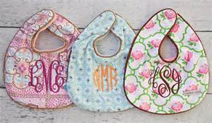monogramed items trendy monogrammed baby gift