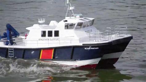 radio island boat r island panther windfarm support vessel youtube