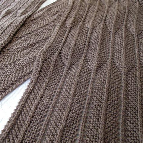 fishbone knitting pattern cozy scarf knitting patterns in the loop knitting
