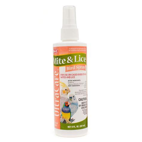 8 in 1 ultra care mite lice bird spray petco