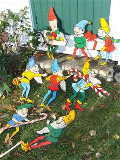 vintage christmas yard decorations 1000 images about outdoor decor on garden wine bottles and looking glass spray