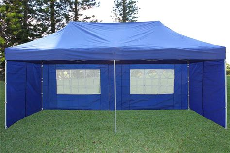 15 X 20 Gazebo 10 X 20 Pop Up Tent Canopy Gazebo W 6 Sidewalls 9 Colors