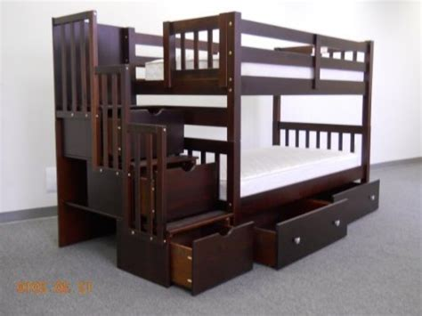 Best Price On Bunk Beds Best Price Stairway Bunk Bed In Cappuccino With 3 Drawers Built In To The Steps