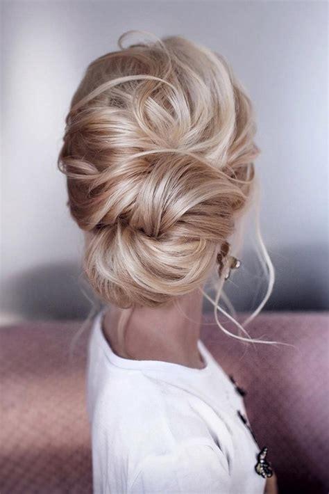 stunning  bun updo wedding hairstyles