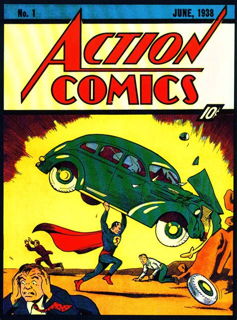 Action Comics #1 Sells For $1 Million, But Will Batman