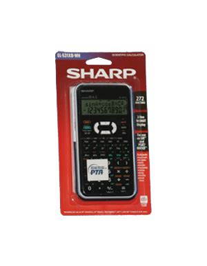 calculator edge sharp electronics el 531xbwh engineering scientific