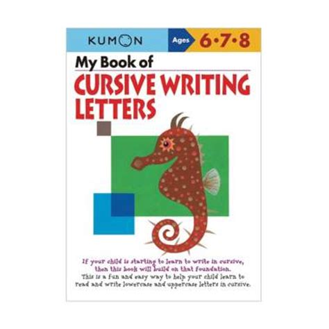 Buku Alphabet Anak jual kumon my book of cursive writing letters buku edukasi anak harga kualitas