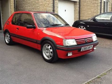 peugeot 205 gti 1 9 for sale for sale unmolested 205 gti 1 9 for sale in oxfordshire