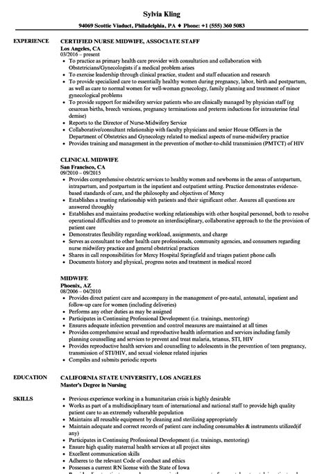 Midwife Resume midwife sle resume daily planning template
