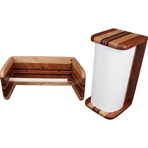 Wood Paper Towel Holder Ode To Wood