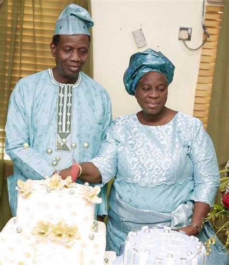 biography of oyedepo the romantic name pastor adeboye called his wife on her