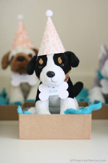 puppy favors 25 best ideas about puppy on birthday and