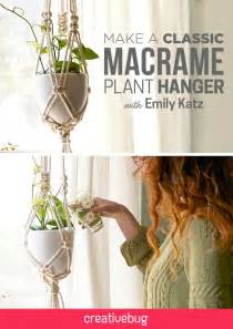 How To Make A Plant Hanger Out Of Yarn - best 25 plant hangers ideas on plant hanger