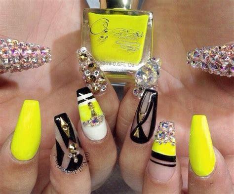 imagenes de uñas acrilicas amarillas 17 mejores ideas sobre u 241 as amarillo ne 243 n en pinterest