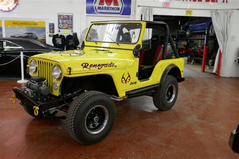 Where Is The Jeep Renegade Built by 1978 Jeep Renegade 4x4 Fresh Frame Restored Cj4 Like