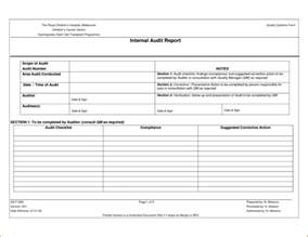 audit findings report template audit findings template bestsellerbookdb