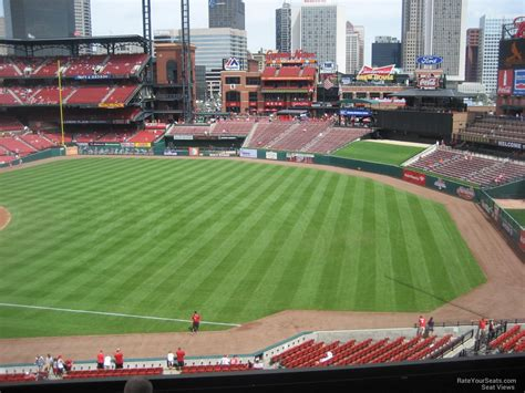 section 235 busch stadium busch stadium section 235 rateyourseats com