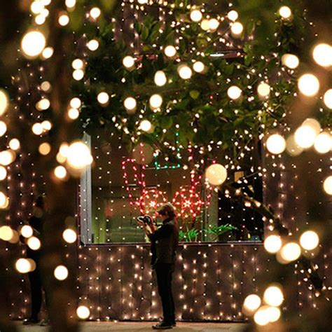 wholesale string light led cotton ball lights garden