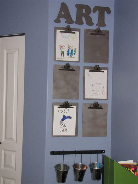 ways to display artwork creative ways to display your children s artwork emerald