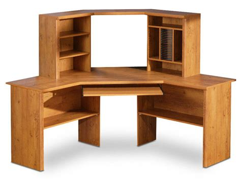 Fascinating Wood Computer Desk That Creates Warm And Cozy Color Printer For Office L