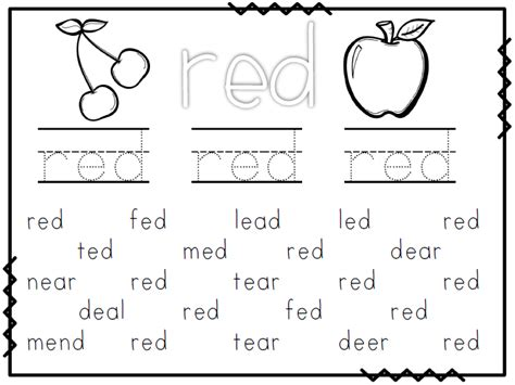 Color Word Worksheets by Mrs Black S Bees Free Worksheet Wednesday