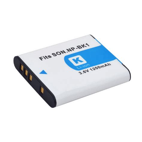 Dijamin Battery Sony Np Bk1 np bk1 battery for sony dsc s950 dsc w180 white 1200mah free shipping dealextreme