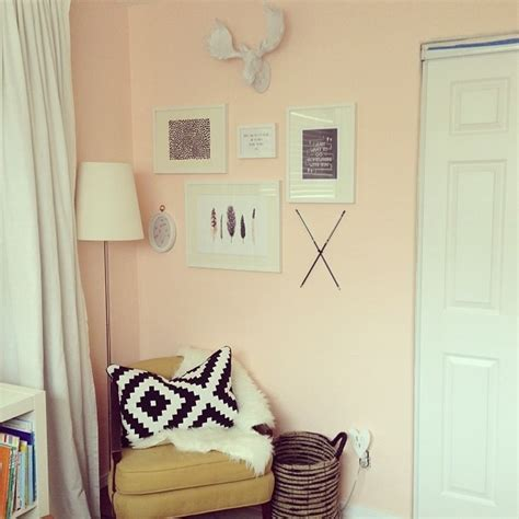 peach walls bedroom paint colors on pinterest peach walls farrow ball and