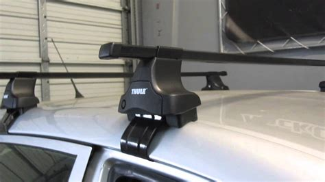 Toyota Matrix Roof Rack Toyota Matrix 03 08 With Thule 480 Traverse Square Bar