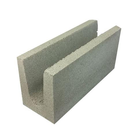 Concrete Block Houses national masonry concrete grey block full length lintel