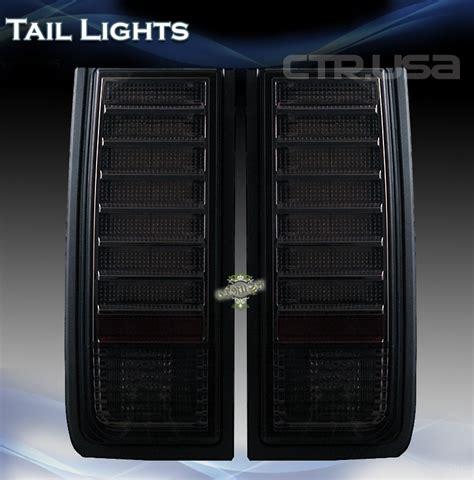 h2 led tail lights hummer h2 lights blackout for under 225 00 hummer