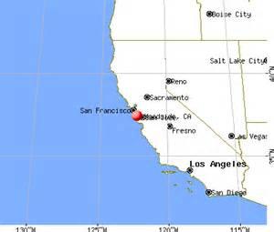 woodside california map california map