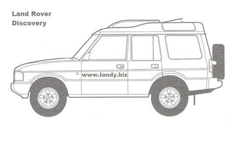 land rover discovery drawing free land rover colouring pictures 4x4