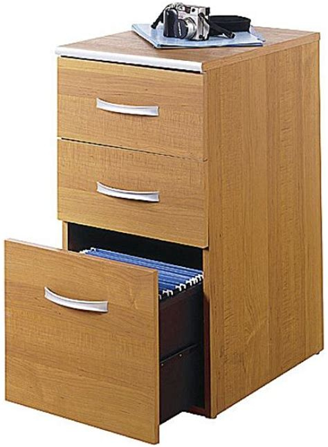 Office Desk With File Drawers by Bush Wc02453 03 Office Revolution Three Drawer File