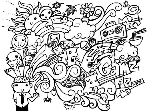 color sheets doodle coloring pages best coloring pages for