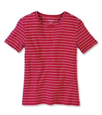 Pf Stripe Tees striped sleeved shirt garment washed striped