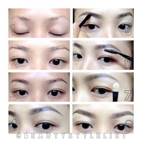 korean eyebrow makeup tutorial 17 best images about korean eyebrows on pinterest sparse