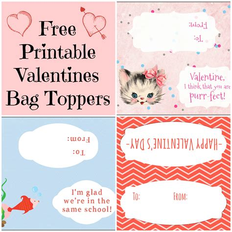 10 Best Images Of Free Printable Bag Toppers Free Printable Christmas Treat Bag Toppers Free Printable Bag Toppers Templates
