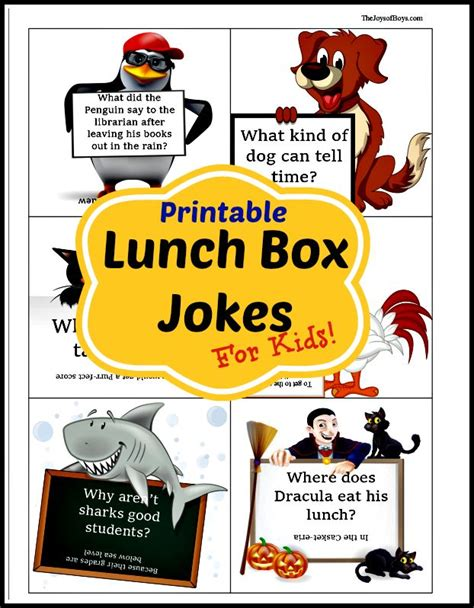 printable lunch jokes 17 best ideas about boys lunch boxes on pinterest hello